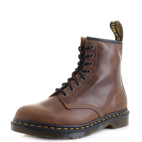 mens dr marten boots mens dr martens 1460 butterscotch orleans brown premium 8