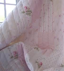 full queen chenille shabby pink cottage cottage roses