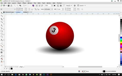 tutorial coreldraw pemula tutorial coreldraw untuk pemula cara membuat bola