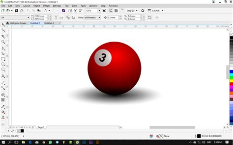 tutorial membuat gambar 3d dengan coreldraw tutorial coreldraw untuk pemula cara membuat bola