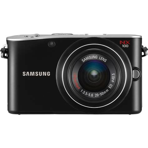 samsung mirrorless samsung nx100 mirrorless digital w 20 50mm ev