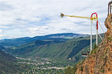 glenwood caverns adventure park swing america s highest elevation roller coaster opens at