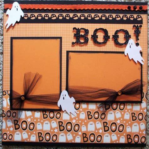 scrapbook layout ideas for halloween pinterest the world s catalog of ideas