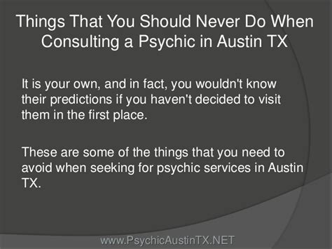 8 Things Your Should Do For You by Things That You Should Never Do When Consulting A Psychic