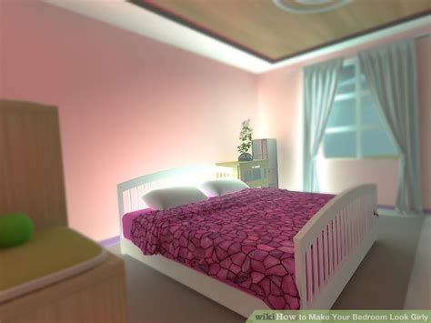 girly bedroom sets 3 ways to make your bedroom look girly wikihow