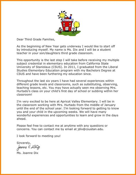Letter Introduction Day 4 Sle Introduction Letter To From Student Introduction Letter