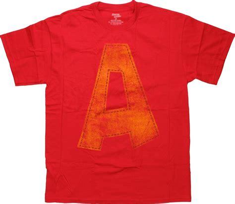 alvin and the chipmunks logo t shirt