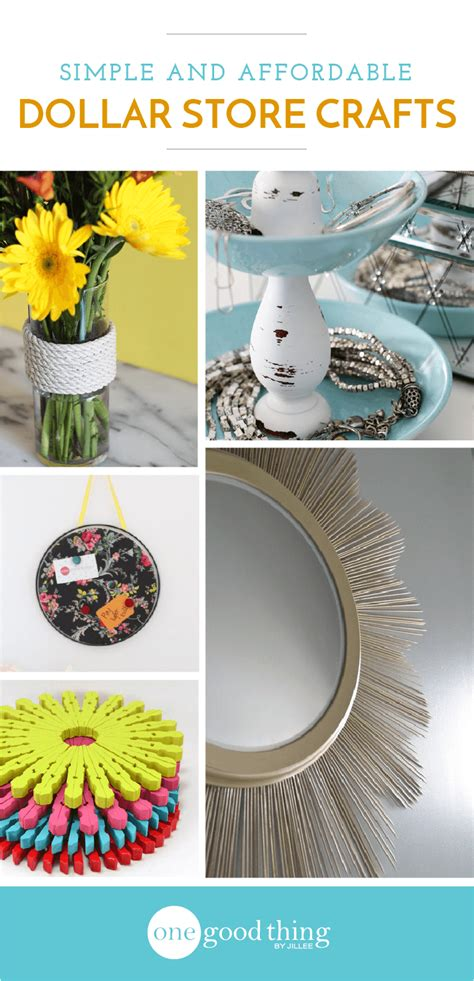 dollar store crafts for 11 easy projects you can make with stuff from the dollar