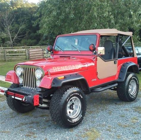 1985 Jeep Renegade Purchase Used 1985 Jeep Cj7 Renegade Sport Utility 2 Door