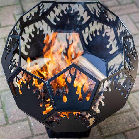 Geodesic Globe Fire Pit Dd Metal Products Limited Globe Pit