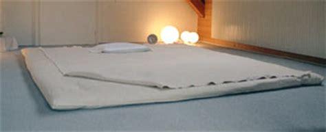 futon per shiatsu shiatsu futon futon matte futon