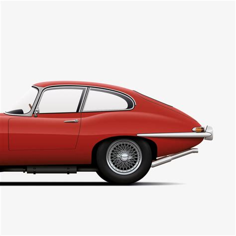 Poster Classic Car 1 a modern and minimalist approach to classic car prints