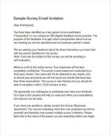 survey invitation email template 7 invitation email exles sles