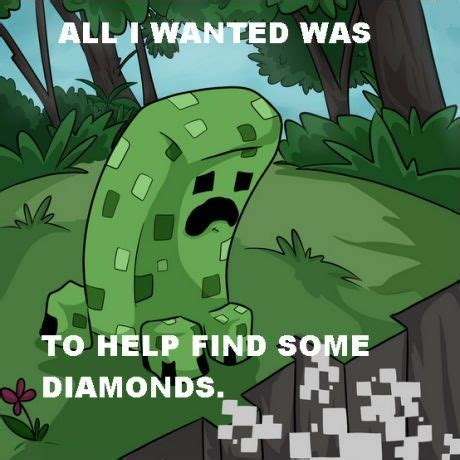 Minecraft Creeper Meme - how to make a good server hoster and how to make it good