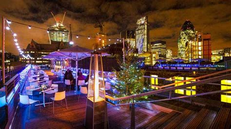 rooftop bars  london  complete   info