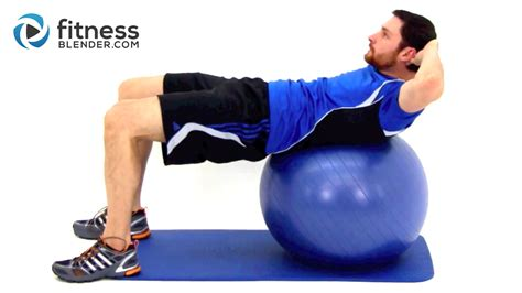 blue balls challenge challenging exercise ab workout fitness blender