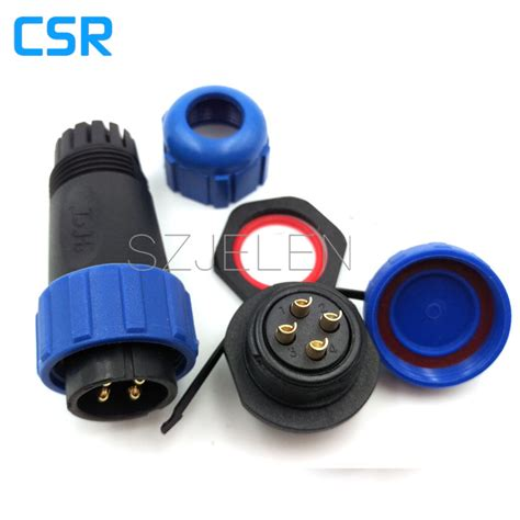 sf 024 waterproof industrial 4 pin connector 32a