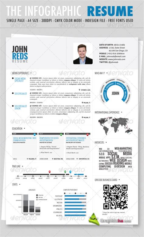 Infographic Resume Template Docx Free What The Heck Trending Now Infographic Resumes For Only 99 00