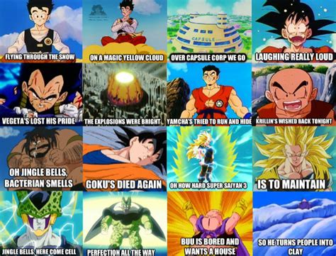 Dragonball Memes - jingle bells dragon ball know your meme