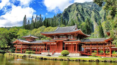 turisti per caso hawaii foto tempio buddhista byodo in viaggi vacanze e turismo