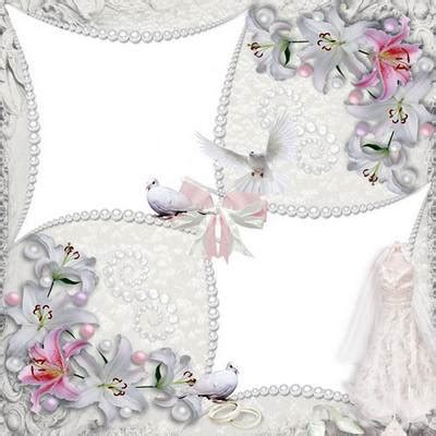 cornici psd free wedding photo frame template layered psd file white