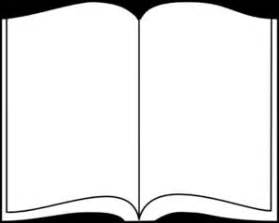 Outline Of A Open Book by 17 Best Images About Clip On Open Book Posts And Clipart Black And White