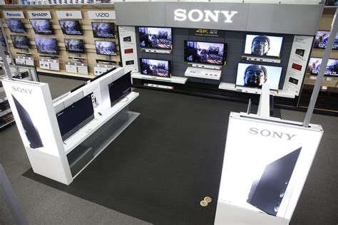 best electronic store sony downgrades retail ambitions to best buy store within