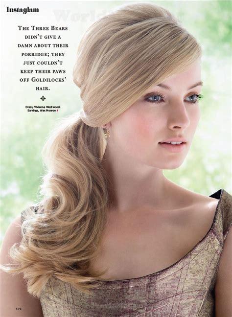 images   hair side ponytail  pinterest kim kardashian holly madison