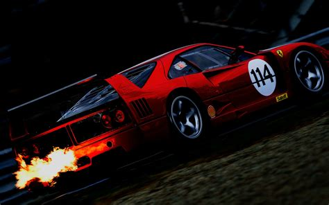 Car Throttle Wallpaper by The F40 D
