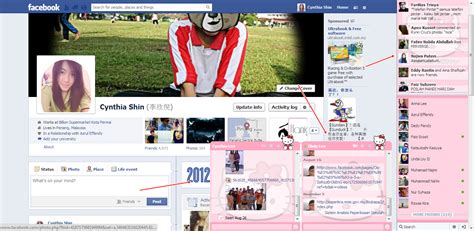 facebook themes tutorial cynthia lee tutorial facebook chat cute layout