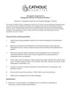 immigration paralegal resume sle crown prosecutor cover letter exle attorney cover