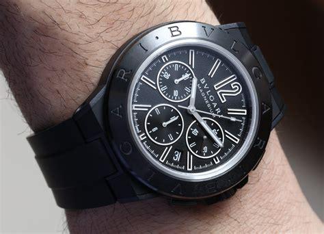 bulgari diagono magnesium chronograph watches on