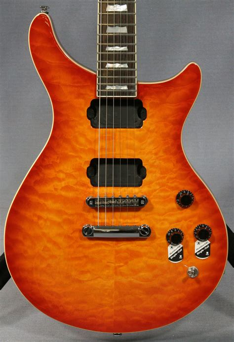 Quilted Maple Guitar by Baker Sunburst Quilted Maple Top Guitar Ed Guitars