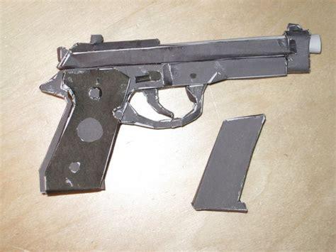 How Do You Make A Paper Gun - how to make a paper model gun