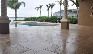 paver pool deck sealing brick paver travertine sealing