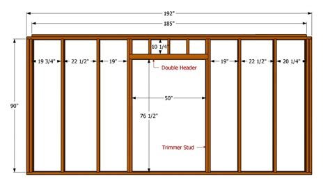 diy door frame how to build a 12x16 shed howtospecialist how to build