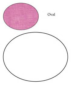 0 level oval coloring page free 0 level oval