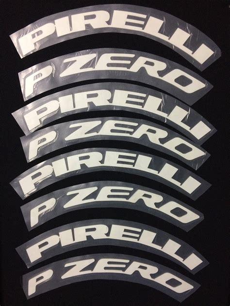 Reifen Aufkleber Buchstaben permanent reifen buchstaben aufkleber 1 pirelli p zero