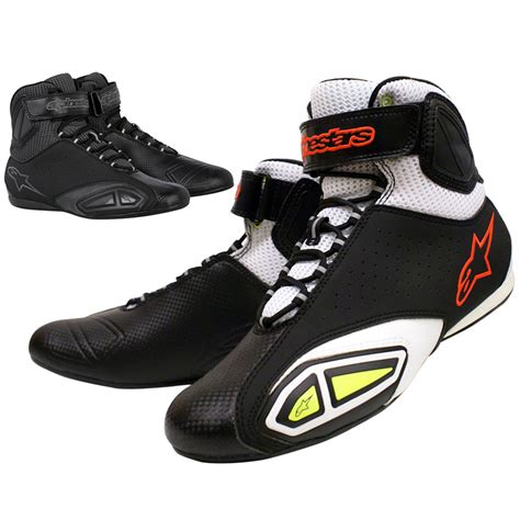 motorcycle shoes alpinestars 2012 fastlane vented breathable boots