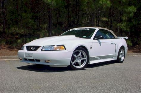 2000 steeda mustang white 2000 ford mustang gt steeda convertible