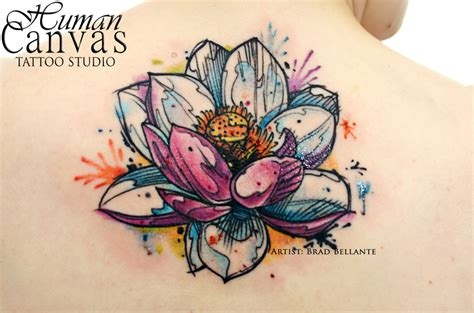 lotus watercolor tattoo 23 lotus tattoos design pictures and images ideas