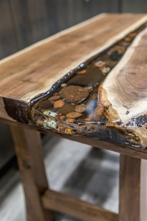 how to resin a table top wood resin table clear bar table top epoxy resin