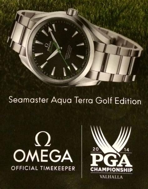 2014 PGA Championship Winner Rory McIlroy Wears Omega