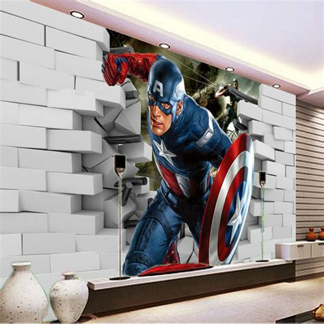 Captain America Bedroom by 3d Captain America Wallpaper Photo Wallpaper Cool