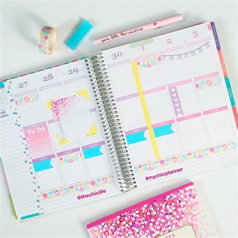 planner layout planner decoration ideas may 2015 erin condren vertical the chic