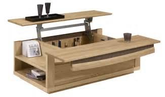 Table Basse De Salon En Bois