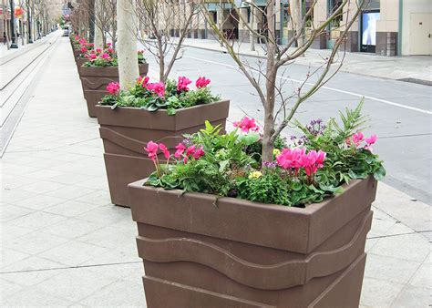Custom Planter by Custom Planters Custom Products Green Roof Solutions