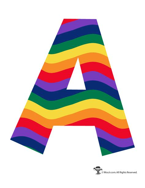 colored bubble letters rainbow letter a алфавит lettering alphabet templates