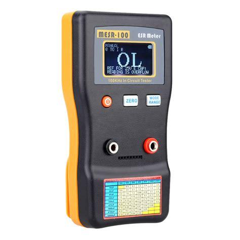 esr capacitor tester price mesr 100 esr capacitance ohm meter professional measuring capacitance resistance capacitor