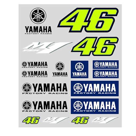 Yamaha M1 Aufkleber by Valentino Vr46 Moto Gp M1 Yamaha Factory Racing